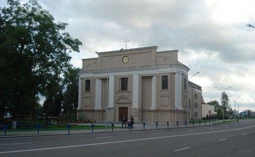 Оршанский католический костел фото