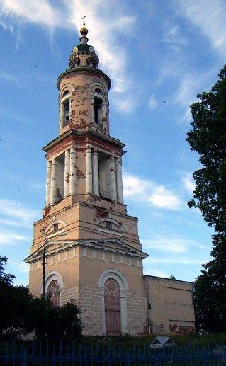 фотография колокольни павлопосадского Воскресенского собора