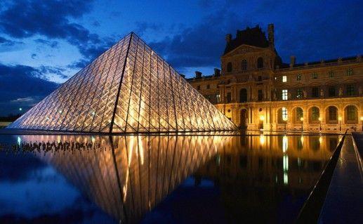 фотография Лувра в Париже