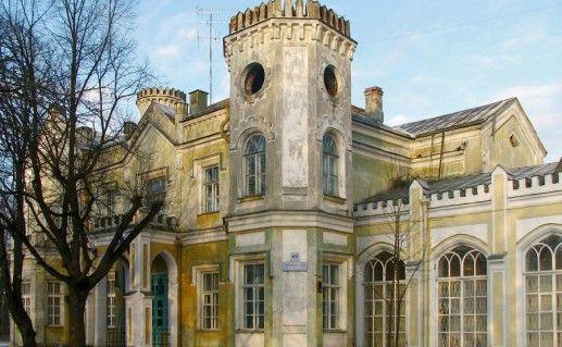 Стрельнинский Львовский дворец фотография