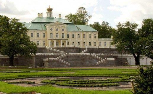 фотография Меншиковского Большого дворца в Ораниенбауме