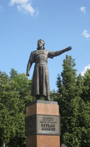 памятник Минину в Нижнем Новгороде фото