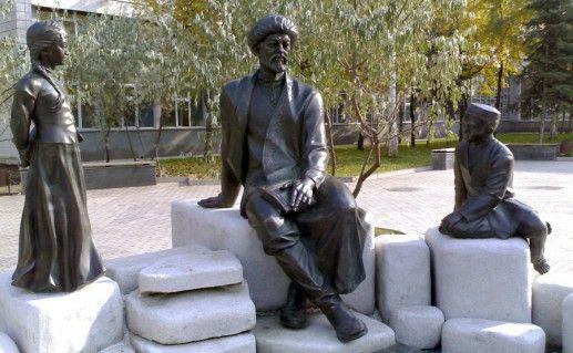 фотография памятника Акмулле в Уфе