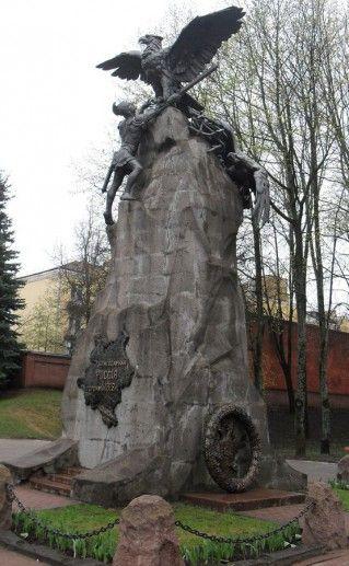 памятник героям Отечественной войны в Смоленске фотография