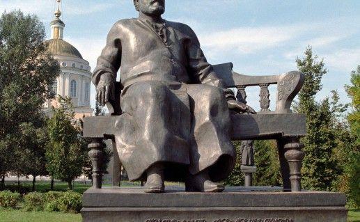 орловский памятник Лескову фото