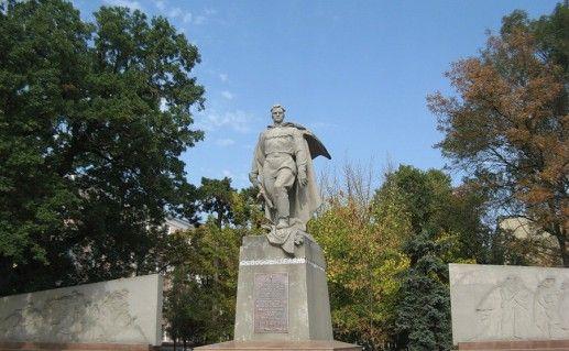 фото памятника Освободителям Краснодара
