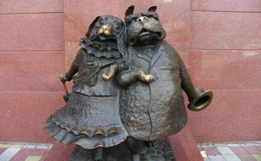 фото памятника собакам в Краснодаре