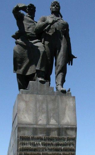 памятник воинам добровольного танкового корпуса в Екатеринбурге фото