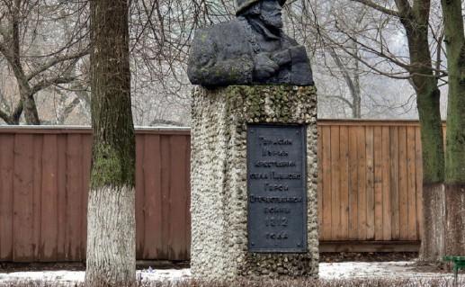 павлопосадский памятник Курину фотография