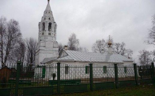 фотография покровской церкви в Тутаеве