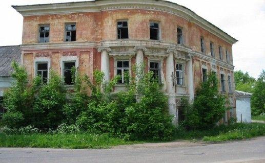 фотография путевого дворца Екатерины II в Вышнем Волочке