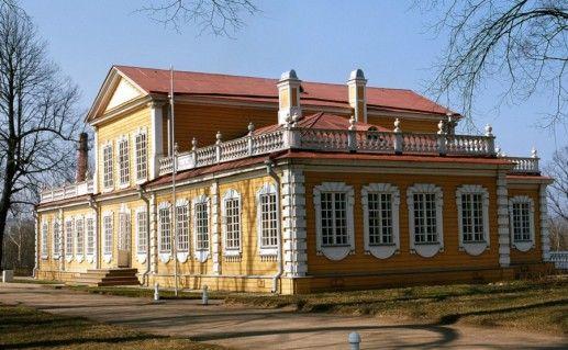 Стрельнинский путевой дворец Петра Великого фотография