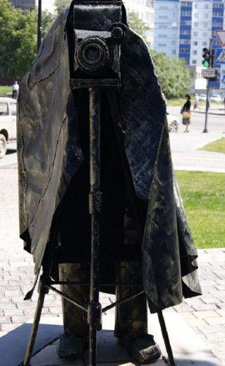 скульптура Фото на память в Новосибирске фотография