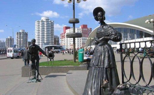 фото скульптур Жбанова в Минске