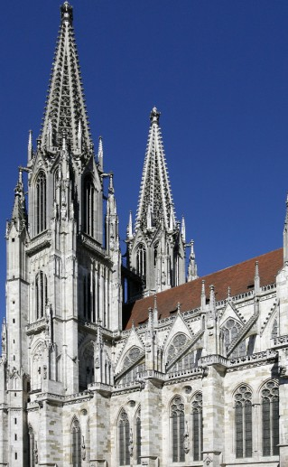 фото собора Святого Петра в Регенсбурге