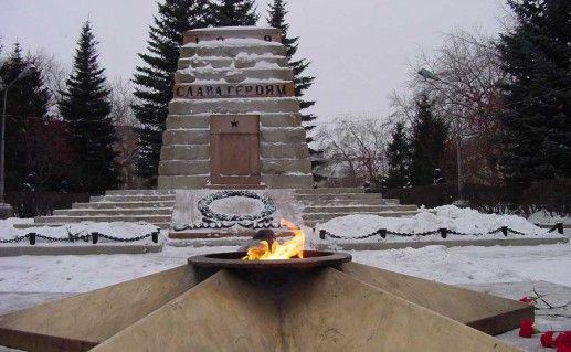 вечный огонь в Челябинске фото
