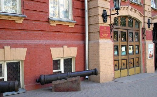 вход в воронежский краеведческий музей фотография
