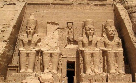 фото Абу-Симбела в Египте