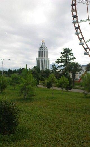 приморский парк в Батуми фотография