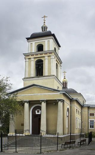 Свято-Михайловский храм в Белгороде фотография