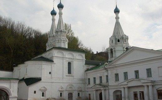 фото Благовещенского монастыря в Нижнем Новгороде