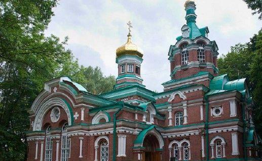 фото церкви Александра Невского в Минске