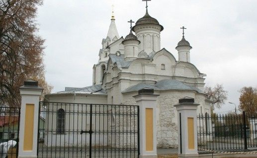 фотография церкви Иоанна Предтечи на Городище