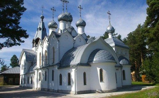 новосибирская церковь Николая Чудотворца фотография