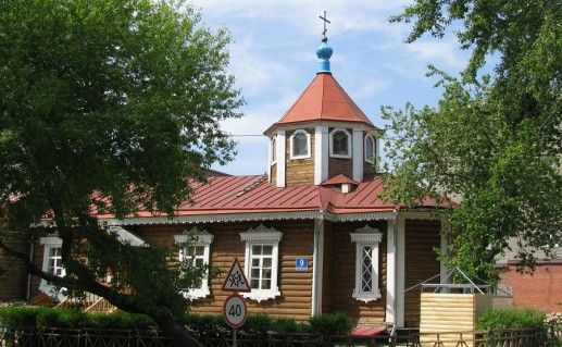 фото церкви Покрова Пресвятой Богородицы в Новосибирске