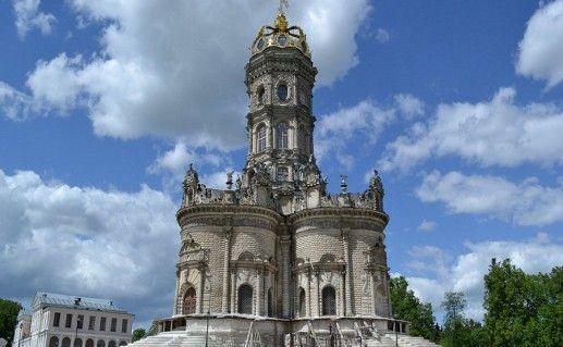 церковь Знамения Пресвятой Богородицы в Дубровицах фотография