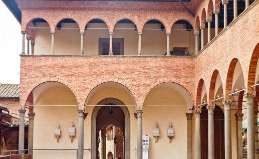 фотография дома Святой Катерины в Сиене