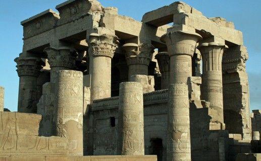 комплекс Ком Омбо в Египте фото
