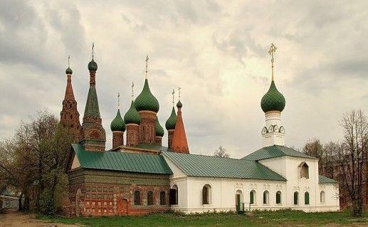 храм Николы Мокрого в Ярославле фотография