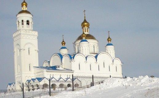 фото храма Преображения Господня в Чебаркуле
