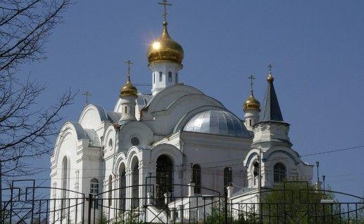 церковь Серафима Саровского в Златоусте фотография