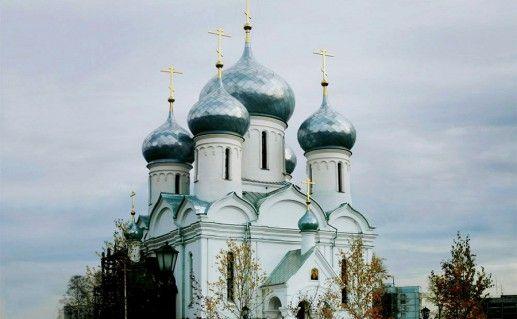 храм в честь иконы Божией Матери в Новосибирске фотография