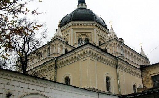 фотография московского Иоанно-Предтеченского монастыря