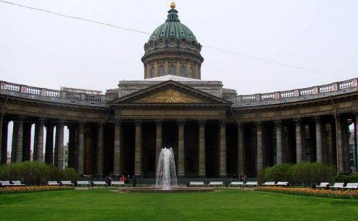 Казанский собор в Санкт-Петербурге фото