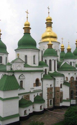 фото Софийского собора в Киеве