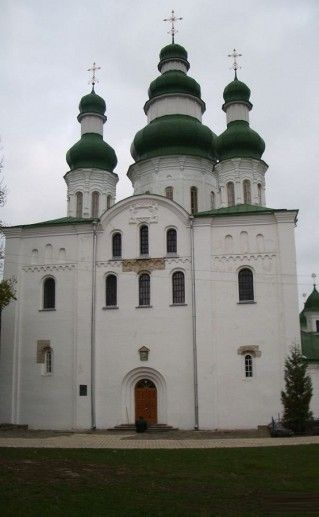 фотография Кирилловской церкви в Киеве
