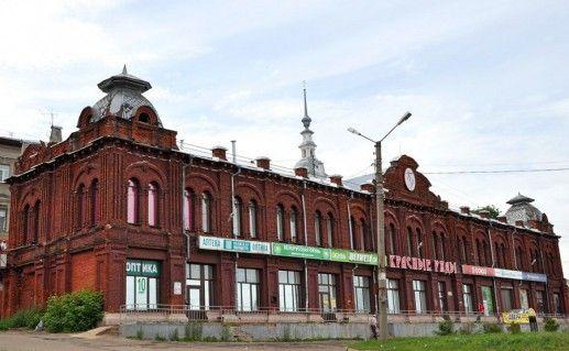 фотография кинешемских Красных торговых рядов