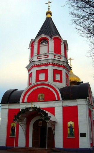 белгородский Крестовоздвиженский храм фотография