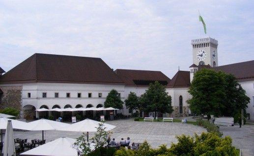 Люблянский замок фотография