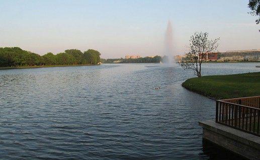 фото Мальтанского озера в Познани