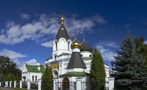 вид на минскую церковь Марии Магдалины фото
