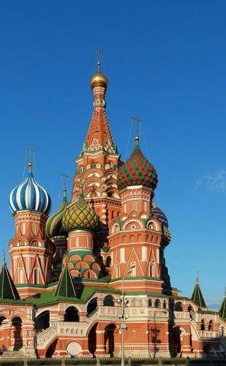 фотография московского храма Василия Блаженного