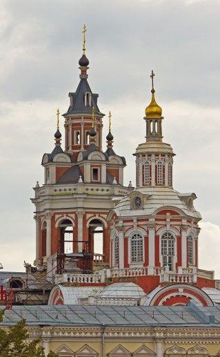 фотография Заиконоспасского московского монастыря