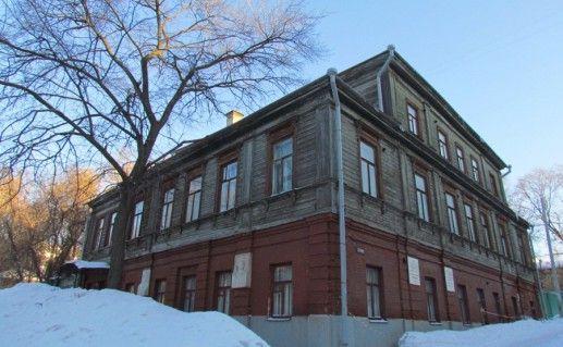фотография музея-квартиры Горького в Нижнем Новгороде