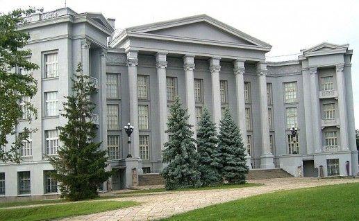 фотография национального музея истории Украины в Киеве