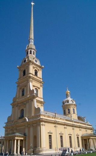 фото петербургского Петропавловского собора